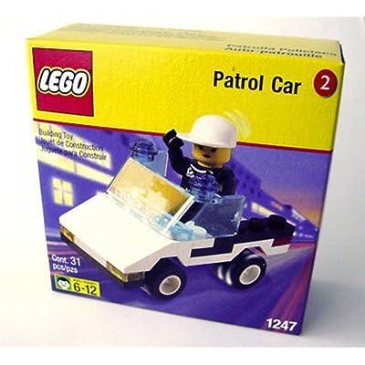 LEGO Shell Promo Town 1247 Patrol Car: Toys & Games