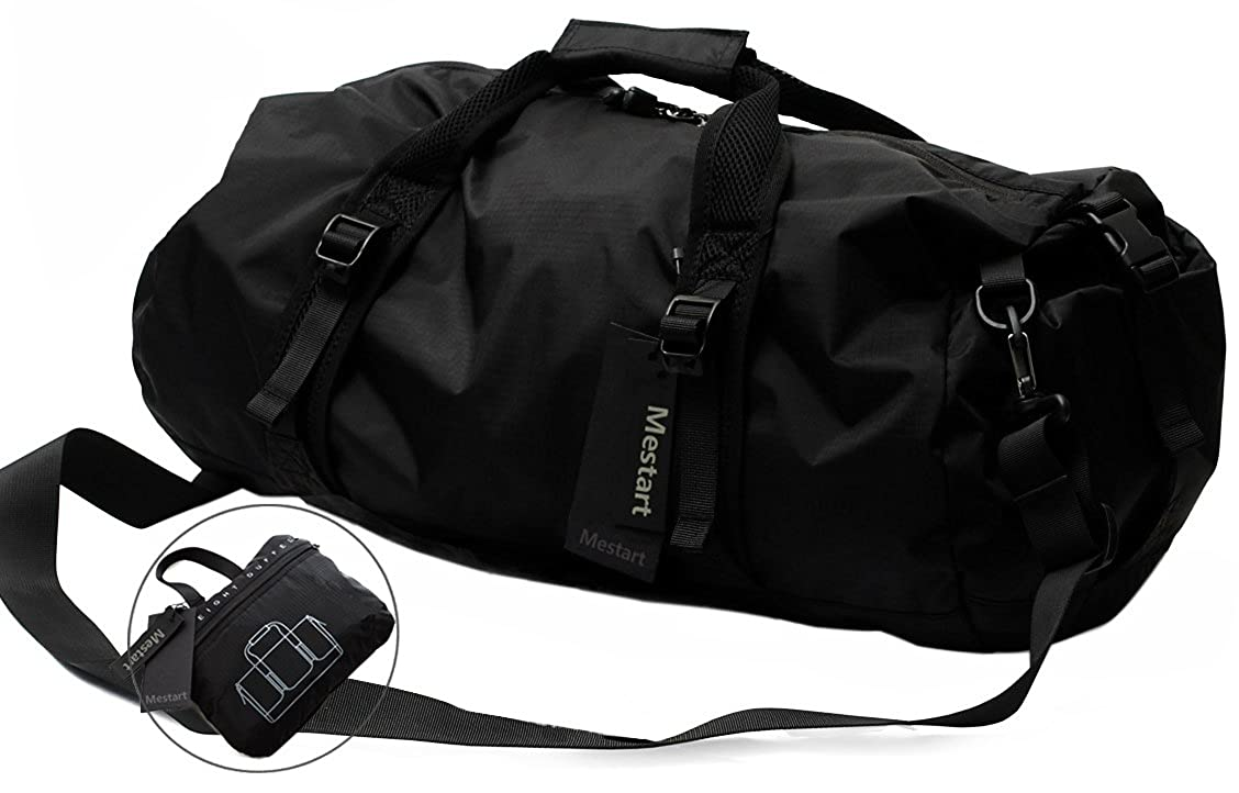 Foldable Duffel Bag, Mestart Waterproof Travel Luggage Gym Sports Shoulder Bag