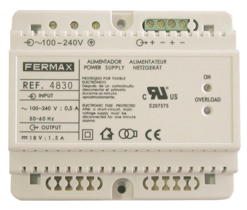 Fermax Netzgerä t 18Vdc/3,5A, 4830