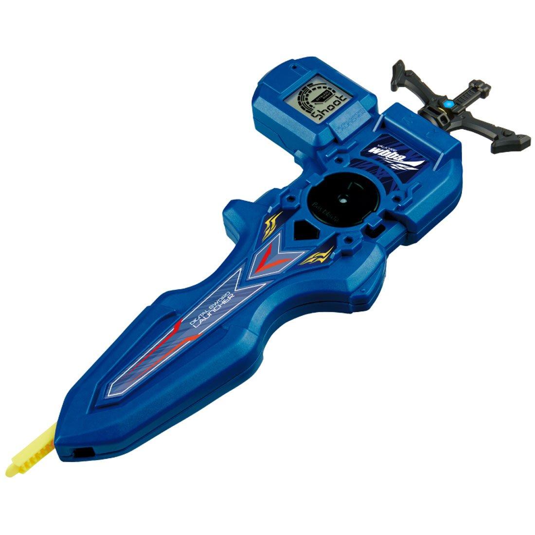 Takaratomy Beyblade Burst B-93 Digital Sword Launcher Blue