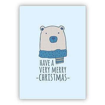 Unternehmen Weihnachtskarten Set (16Stk) Tolle Weihnachtskarte für ...
