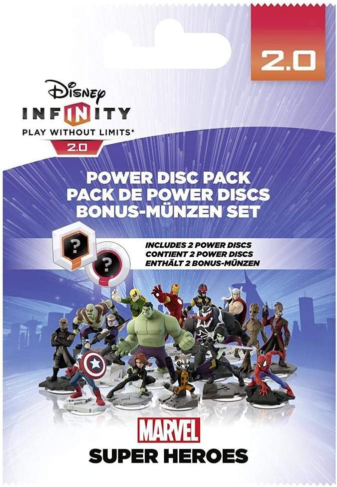 Disney Infinity 2.0 - Power Discs Series 1 (Marvel): Amazon.es ...