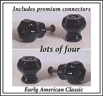 öl eingerieben bronze schrank zieht draht lot von jet schwarz kristall knopf zieht mit Öl eingerieben bronze mit flush