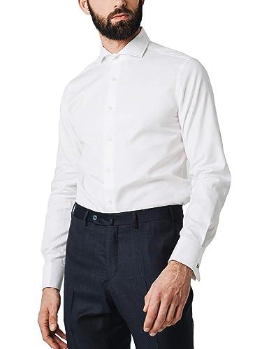 Scalpers Madrid Class DP Shirt - Camisa para Hombre, Talla 38, Color Blanco: Amazon.es: Ropa y accesorios