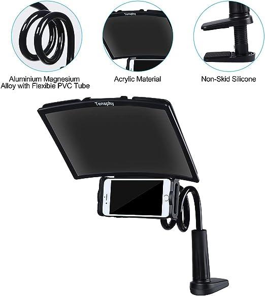 Lupa de Pantalla Lupa de tel/éfono m/óvil Ampliaci/ón 3-4 Veces para una Mejor Experiencia de visualizaci/ón de pel/ículas Apto para Todos los tel/éfonos Inteligentes