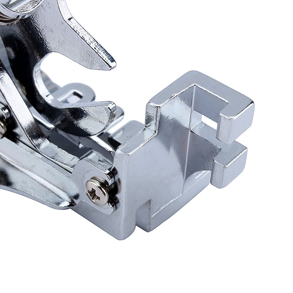 Ruffler Foot,Ruffler Attachment Presser Foot Machine Fits All Low Shank Singer Brother,Babylock,Janome,Kenmore,Juki,New Home,Necchi and Elna Sewing Machine