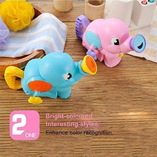 Amazon.com : Baby Bath Toy, TRIEtree Cute Elephant Bathroom Bathtub ...