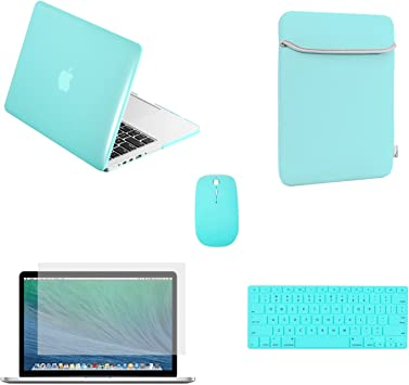 "Hot Blue Sleeve Bag for Newest Macbook pro 15/"" A1398 with Retina Display"