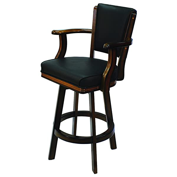 RAM Gameroom Products Swivel Barstool with Arms