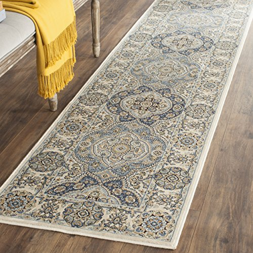 Safavieh Persian Garden Collection PEG611C Traditional Ivory Viscose Runner (2'2