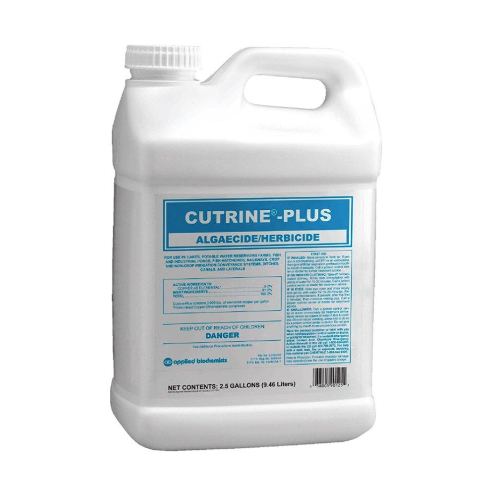 Cutrine Plus Algaecide, 2.5 gal