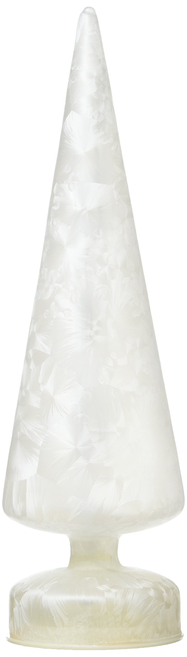 LED Lighted 11-inch Christmas Tree - White