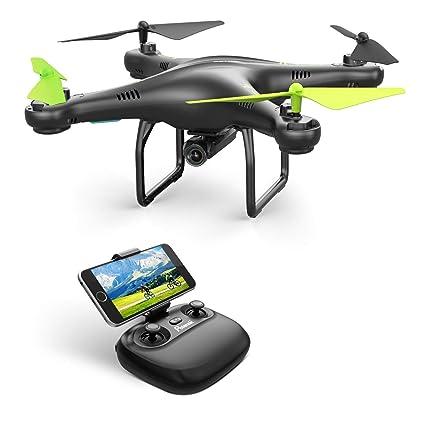 Potensic U42 WiFi FPV Drone con Cámara 720P HD, 360 ° Flip, RTF RC ...