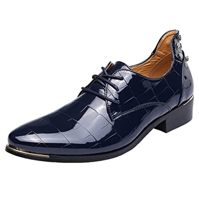 Homme Chaussure Leather Commercial Brillant Dadawen wdAfqw8