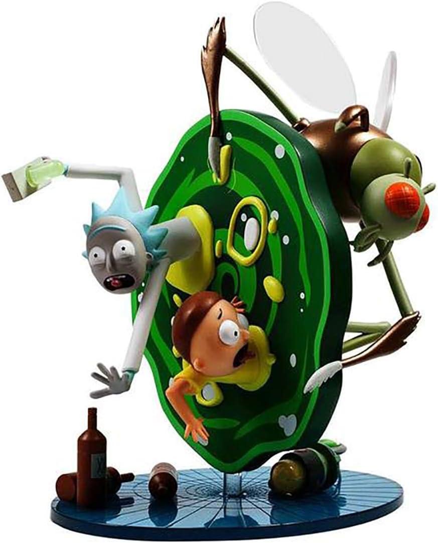 "Rick and Morty Medium 7/"" Figurine en Vinyle par KIDROBOT X Adult Swim Cartoon Network"