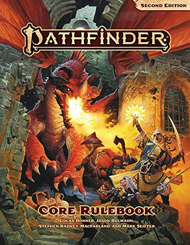 Pathfinder Core Rulebook (P2) por Jason Bulmahn