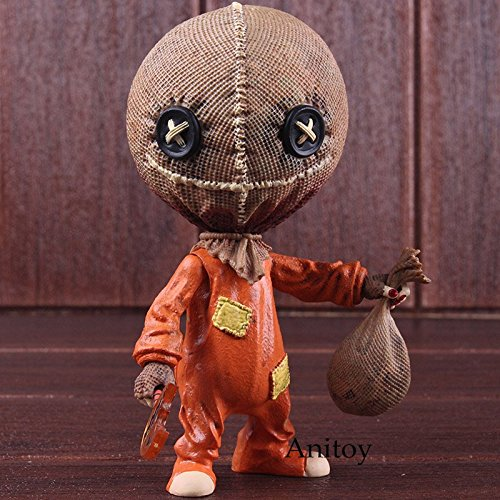 Mezco Trick 'r Treat Stylized Sam PVC Action Figure Trick Or Treat Halloween Decoration Gift Collectible Model Toy]()