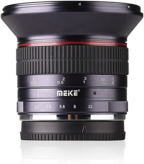 Meike 12mm F/2.8 Ultra Wide Angle Manual Foucs Prime Lens for Sony ...