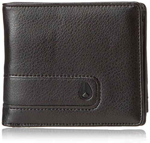 Nixon Showtime Bi-fold Id Zip Wallet, all all black ()