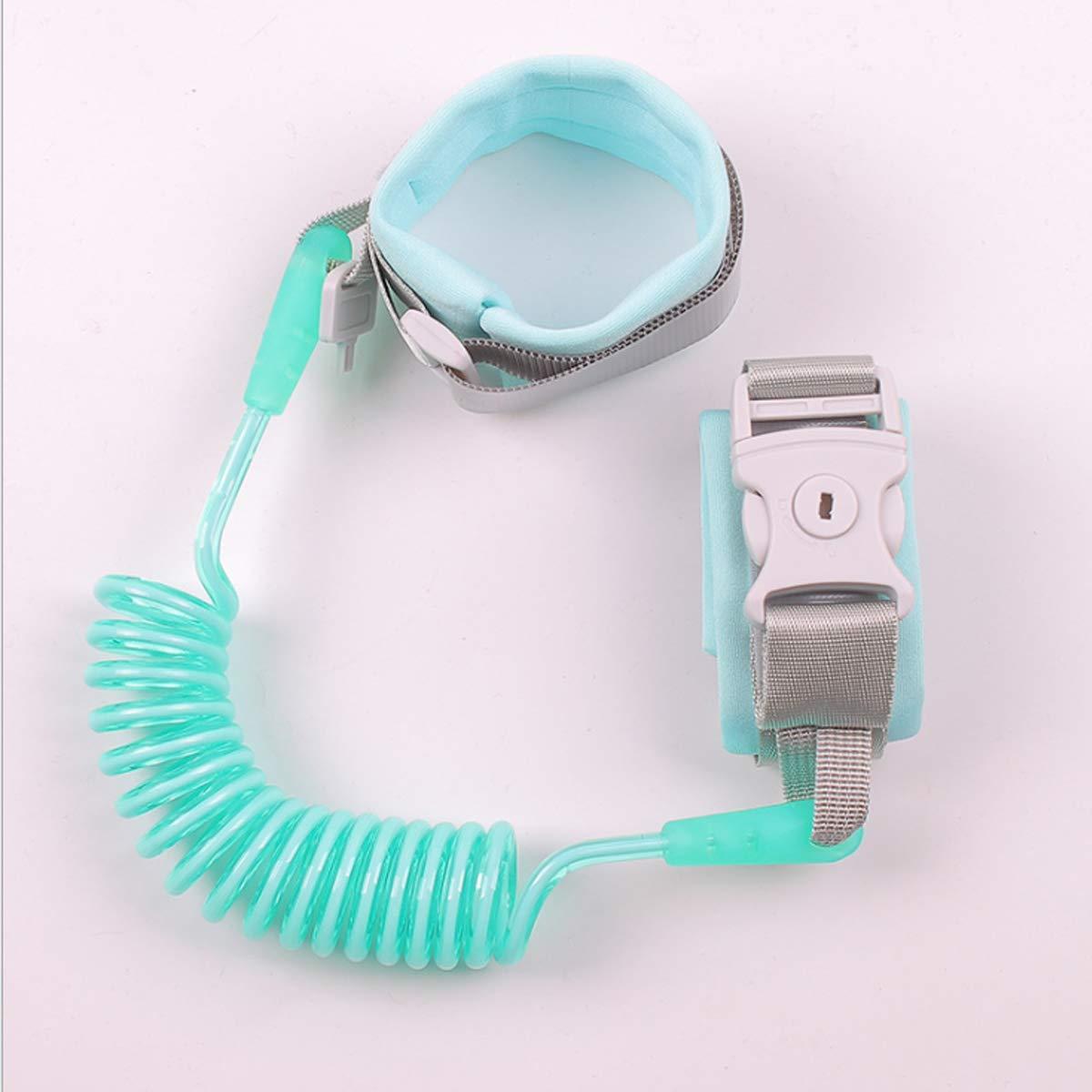 Anti-Loss Strap Wrist Link Hand Harness Leash Band Safety,Handgelenk G/ürtel Link f/ür Kleinkinder 1.5M Gr/ün Kinder Anti-verloren Handgelenk G/ürtel Anti-Verloren Sicherheitsleinen