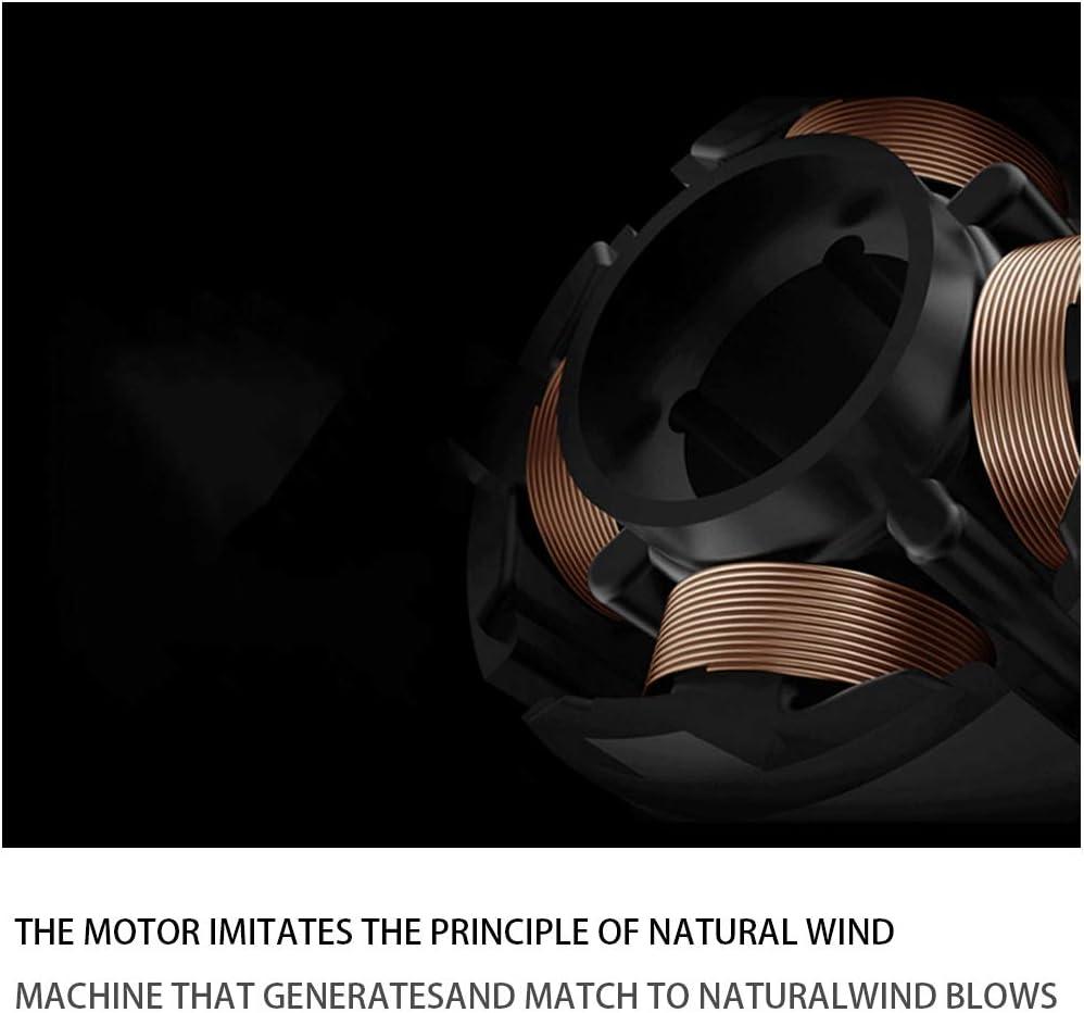 YYBF Ventilatore da Collo Mini Ventilatore Portatile A 3 velocità, Ventilatore USB Ricaricabile Ventilatore da Tavolo, Adatto per Tavolo da Ufficio,Rosa Pink