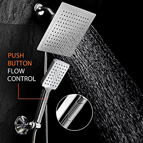 Price comparison product image Generic LQ..8..LQ..3998..LQ Combo S Combo Square hower A And Shower Head 9in 9 inch Rainfall ainfall Handheld Shower s Steel Hos Stainless Steel Hose NV_1008003998_US6-LQ