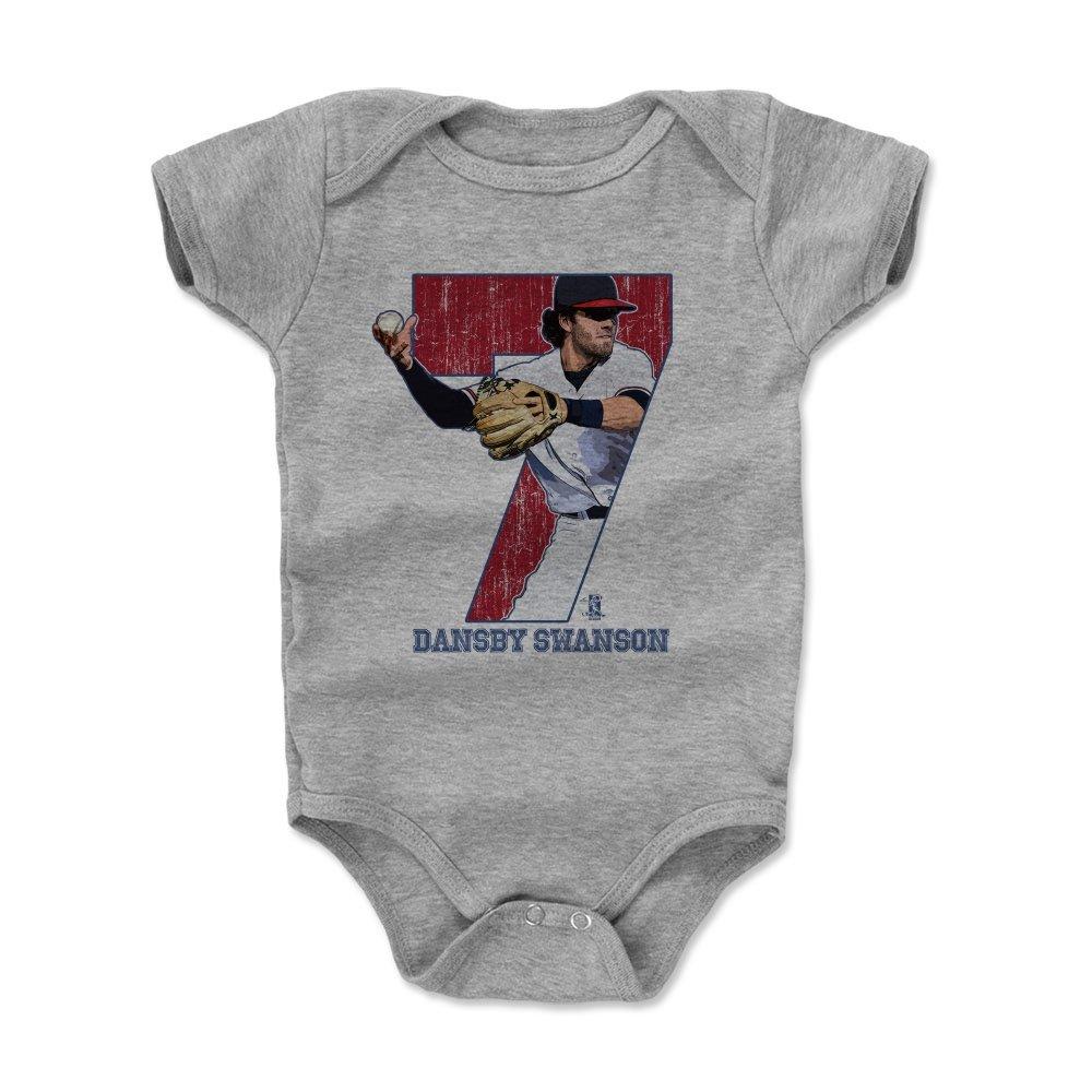 新しい季節 500レベルのDansby – Swanson Infant 18 & Baby Onesieロンパース – アトランタ野球ファンギアの公式ライセンスMLB SwansonゲームR Players Association – Dansby SwansonゲームR B06XBHZ1TL ヘザーグレー 12 - 18 Months, 最新の激安:4aaad580 --- svecha37.ru