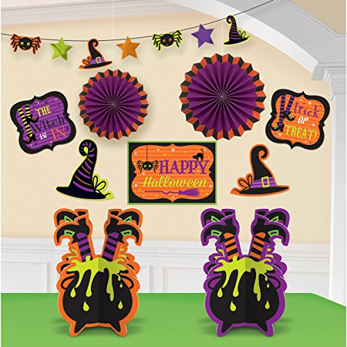amscan Witch Room Decorating -