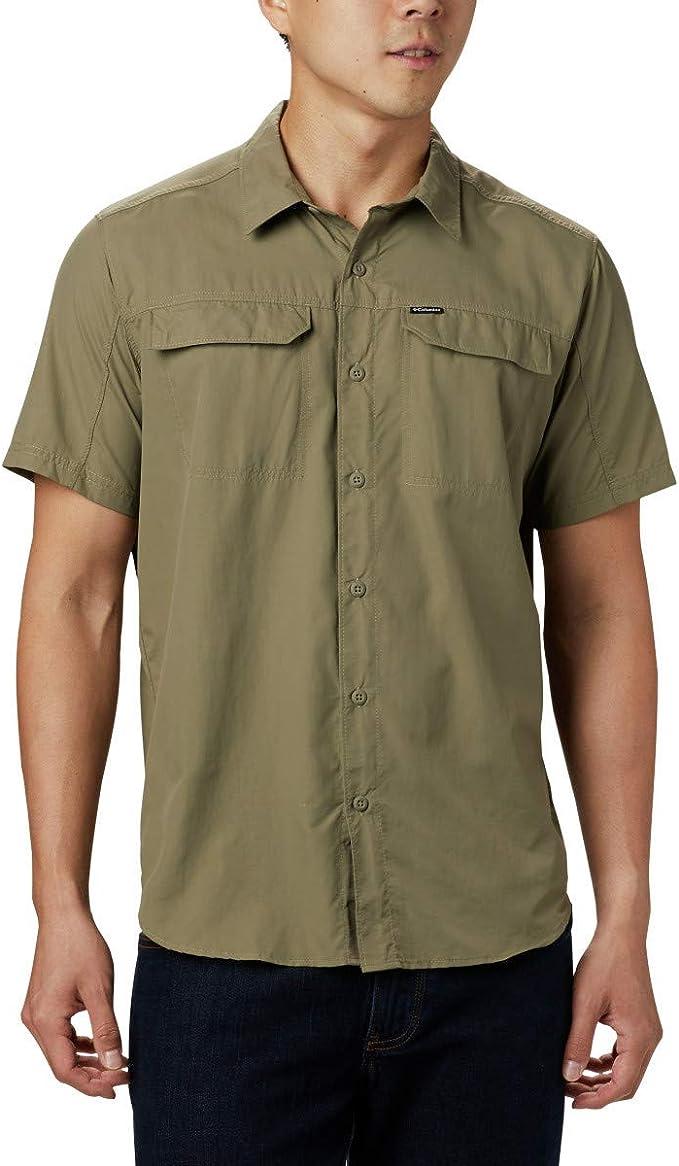 Columbia 哥伦比亚 SSilver Ridge 2.0 UPF50防晒 吸湿排汗 男式短袖衬衫 3.4折$16.99起 海淘转运到手约¥131