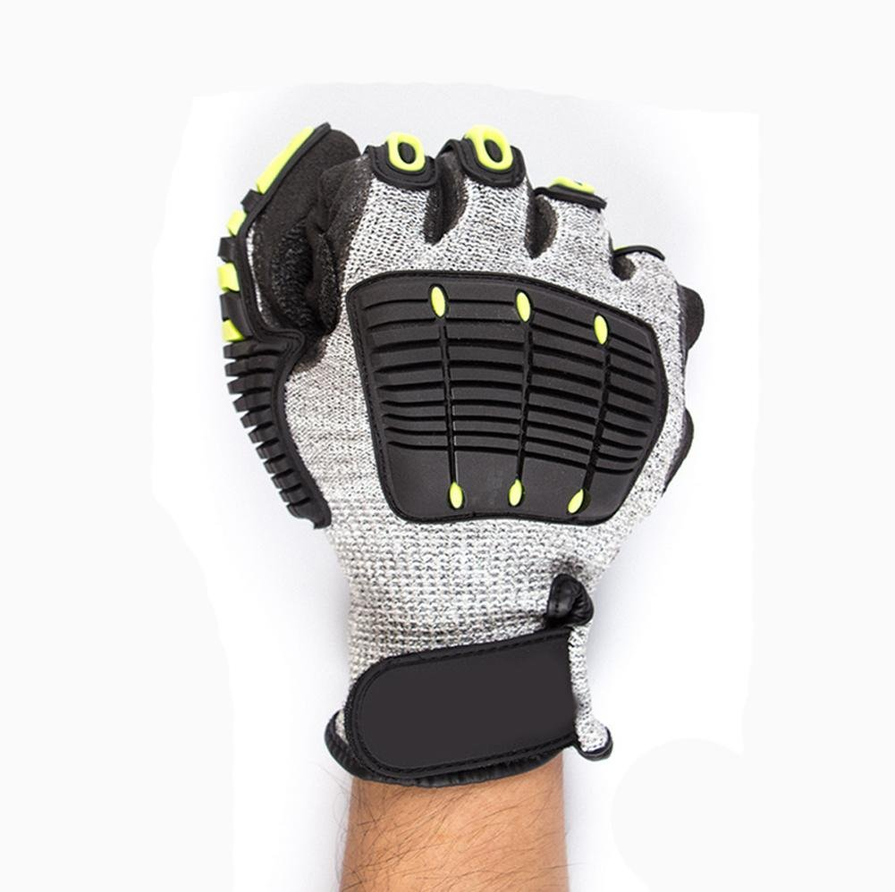 Anti - cross - country motorcycle gloves male racing knight anti - cutting all - finger gloves security protection by LIXIANG (Image #3)