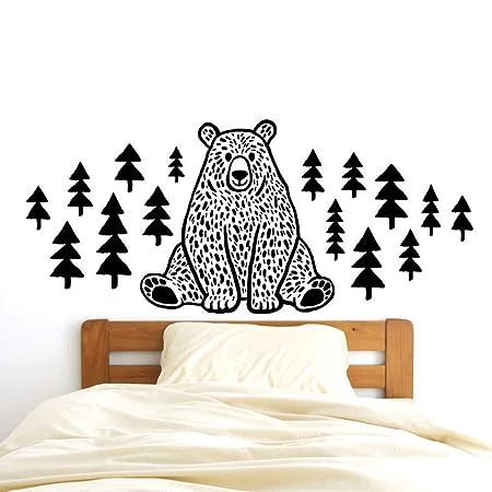 zqyjhkou Nordic Mori Animal Pine Bear Dibujos Animados ...