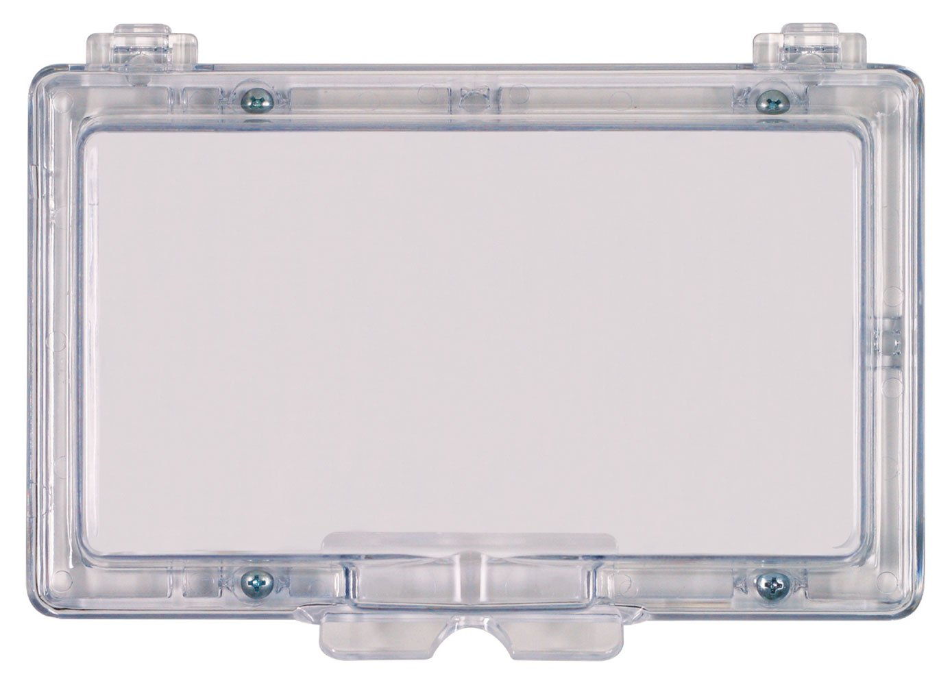 Safety Technology International, Inc. STI-6550 Widebody Keypad Protector without Lock - Flush Mounted Clear Polycarbonate Enclosure