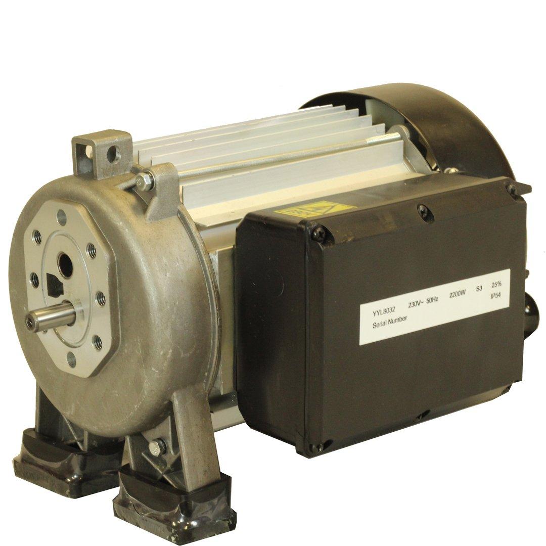 Forest Master Ersatz 3HP 2200Watt Elektromotor 4, 5, 6, 7Tonnen 13Amp ohne Pumpe Halterung