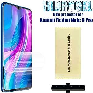 OcioDual Protector de Pantalla TPU Hidrogel para Xiaomi Redmi Note 8 Pro Flexible Membrana Lámina Protectora Antiarañazos