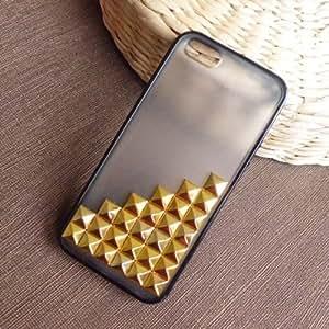 Shapotkina New Design Handmade Vintage Bronze Pyramid Cross Studs Iphone 5 Case+Westlinke Logo Stylus