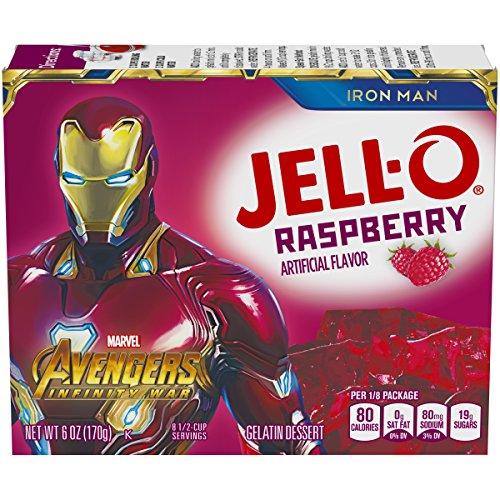 Jell-O Raspberry Gelatin Dessert Mix, 6 oz Box by Jell-O (Image #8)