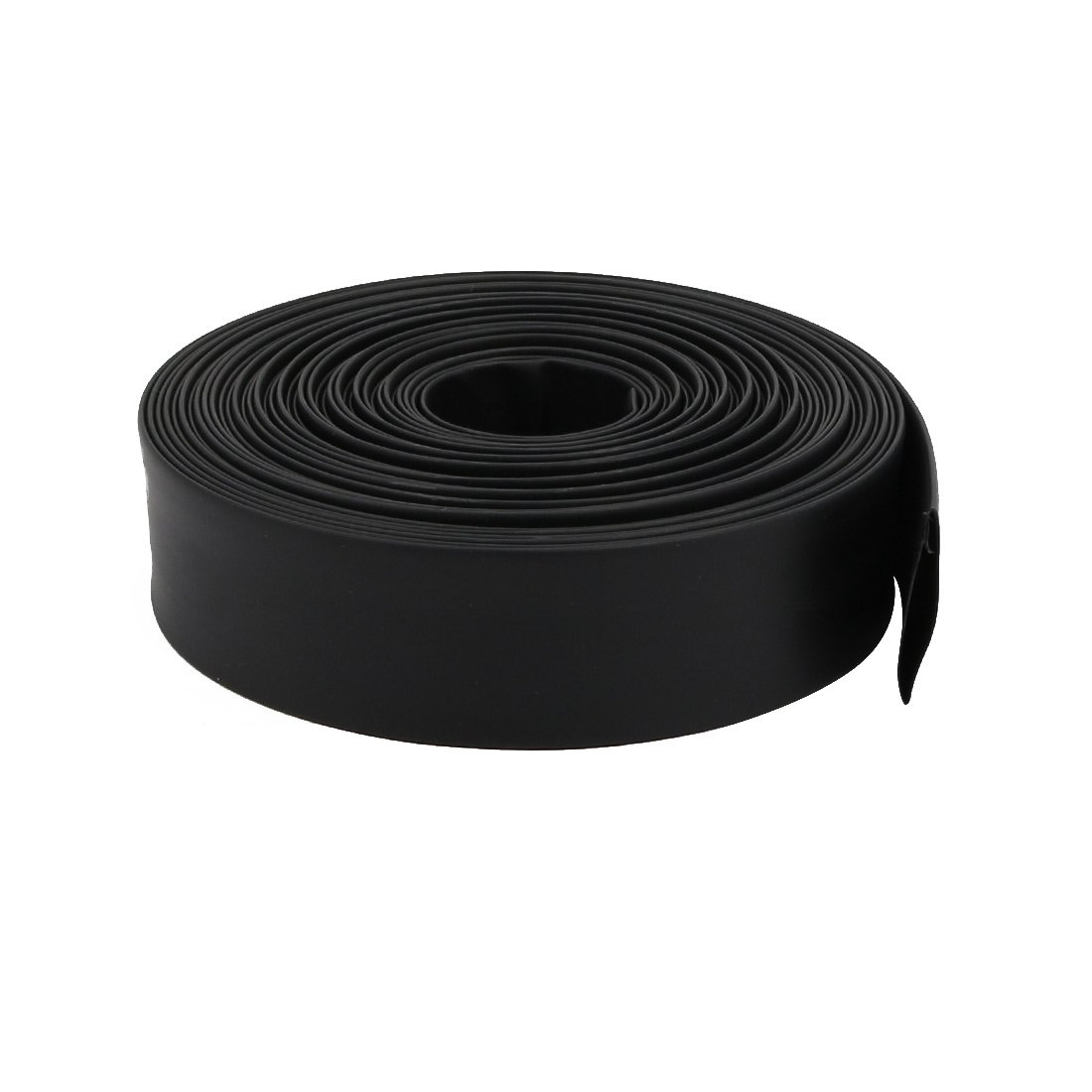 uxcell 10M Length 0.71in Inner Dia Polyolefin Heat Shrinkable Tube Sleeving Black