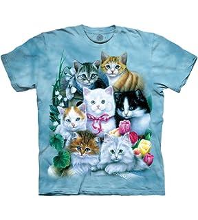 314f7fde4 Amazon.com: The Mountain Kids Ten Kittens T-Shirt: Clothing