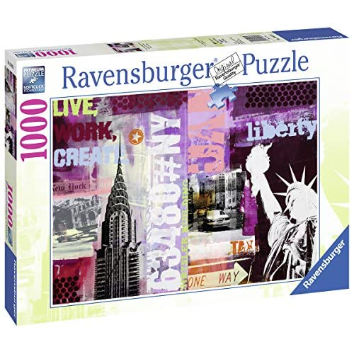 Ravensburger 19613 - Puzzle New York City Collage - 1000 pièces