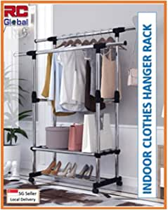 RC-Global Clothes rack/Clothes Horse/Clothes Hanger/Clothes drying rack/Clothes dryer/Clothes hanging Stand/Clothes hanging rack/Clothes stand/laundry drying rack/Foldable clothes ra