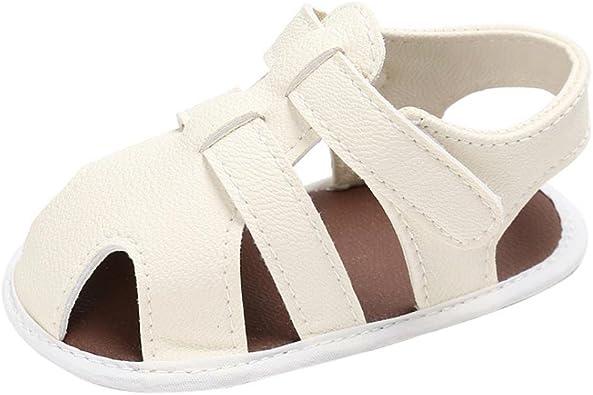 Bebe Recien Nacido Verano Sandalias Zapato Casual Zapatos Sneaker Antideslizante Suela Suave para 0-6 6-12 12-18 Meses AMEIDD Zapatos para beb/é