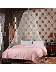 FODER Bed Canopy,Bed Mosquito Net Canopy Netting, Anti Mosquito As Mosquito Net Use to Cover The Baby Crib, Kid Bed, Girls Bed Or Full Size Bed