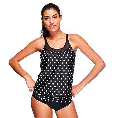 Femmes Sans Manches Maillots De Bain Deux Pièce Bikini Loisirs Tankini Style 1 M Nouvelle Marque Unisexe La Vente En Ligne vRIVgWLYQ7