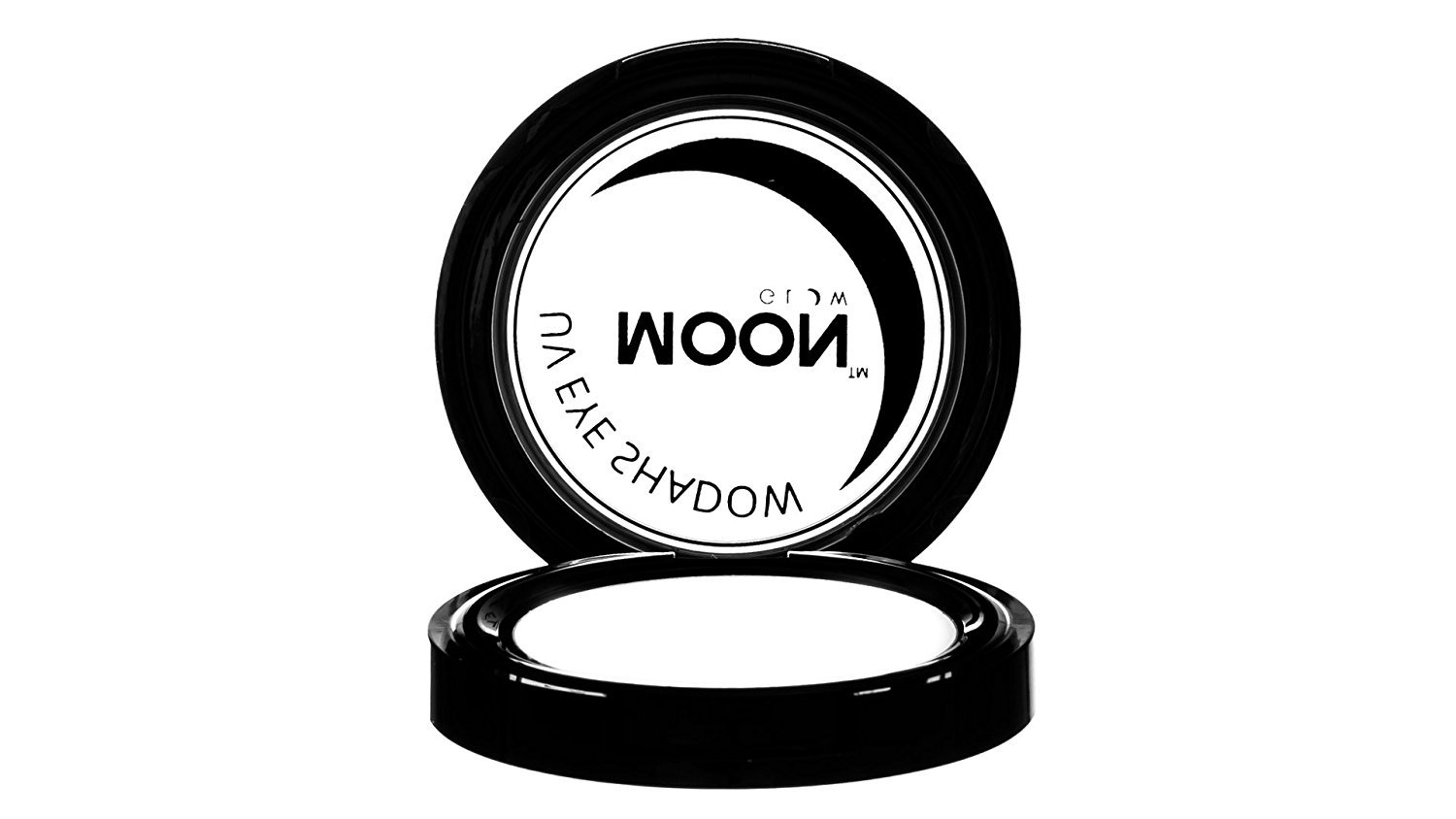 Moon Glow - Blacklight Neon Eye Shadow 0.12oz White – Glows brightly under Blacklights / UV Lighting!