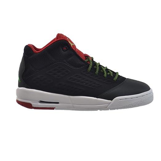 Jordan New School BG Big Kids' Shoes Black/Green Pulse-Gym Red-
