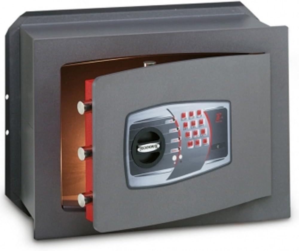 CASSAFORTE A MURO INCASSO TECHNOMAX TECHNOFORT TRONY CON COMBINAZIONE DIGITALE-340X460X200 MM
