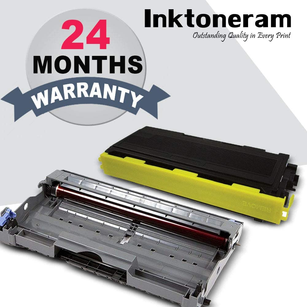 Inktoneram Compatible Toner Cartridge /& Drum Replacement for Brother TN350 DR350 DR-350 TN-350 DCP-7020 IntelliFax 2820 2910 2920 MFC-7220 MFC-7225N MFC-7820N MFC-7420 HL-2030 HL-2040 DR,TN,2PK