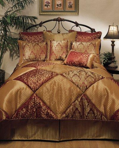 Sherry Kline 8-Piece Chateau Royale Comforter Set, California King ()