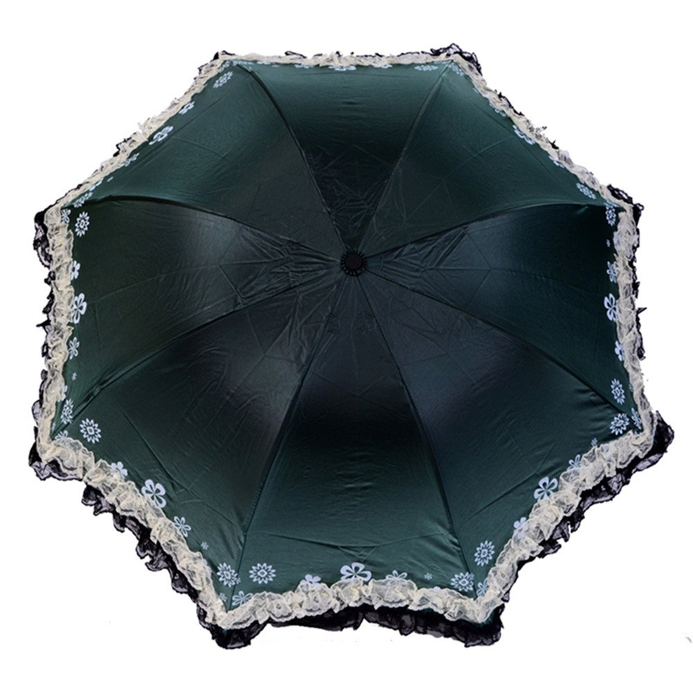 Vintage Style Parasols and Umbrellas Lace Umbrella with Uv Protection-Life Time Guarantee $8.88 AT vintagedancer.com