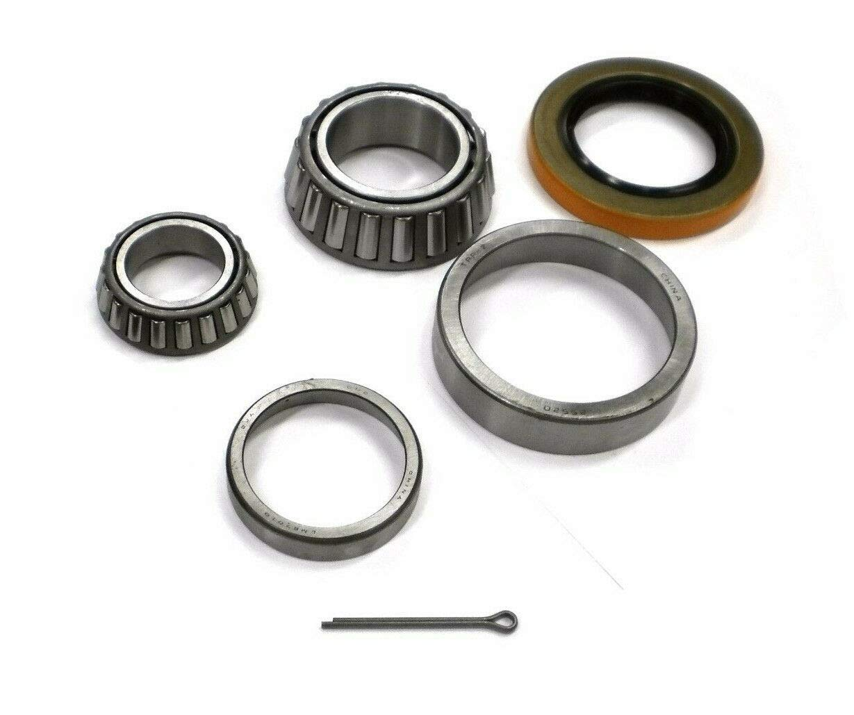 5200# Bearing Axle Kit LM67048 1.25'' Bearing Trailer Vintage Dexter Drum 8-155 by unbrand